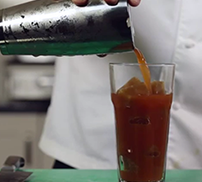 Sous vide cocktails - Bloody Mary cocktail with Ross Clarke